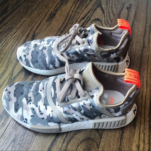 Adidas Nmd R Brown Camo Shoes G27948